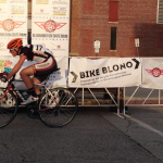 Event branding during Bloomington Criterium