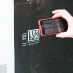 QR Codes at bus stops and bike shelters direct patrons to campaign information.