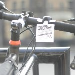Free bike light tag