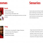 Personas and scenarios to demonstrate prioritized audience and use.