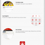 App promotional website.