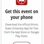 App web badge for departmental websites.
