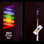 Festival Pass – front and back