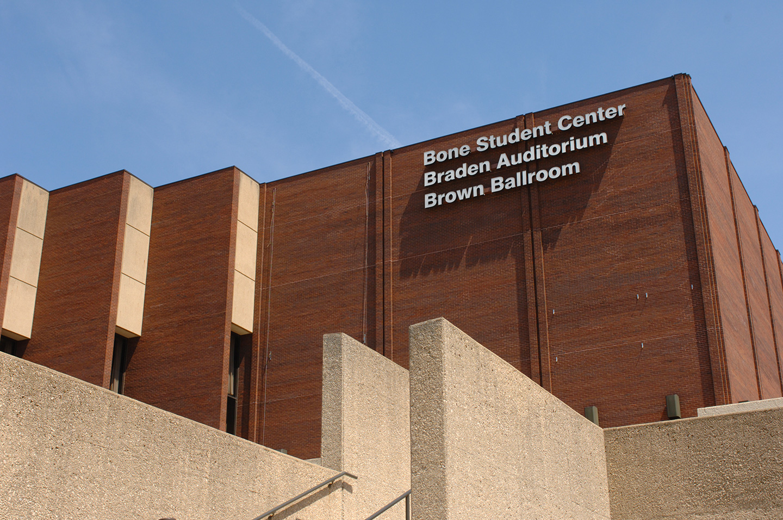 Bone Student Center. Photo credit: Lyndsie Schlink