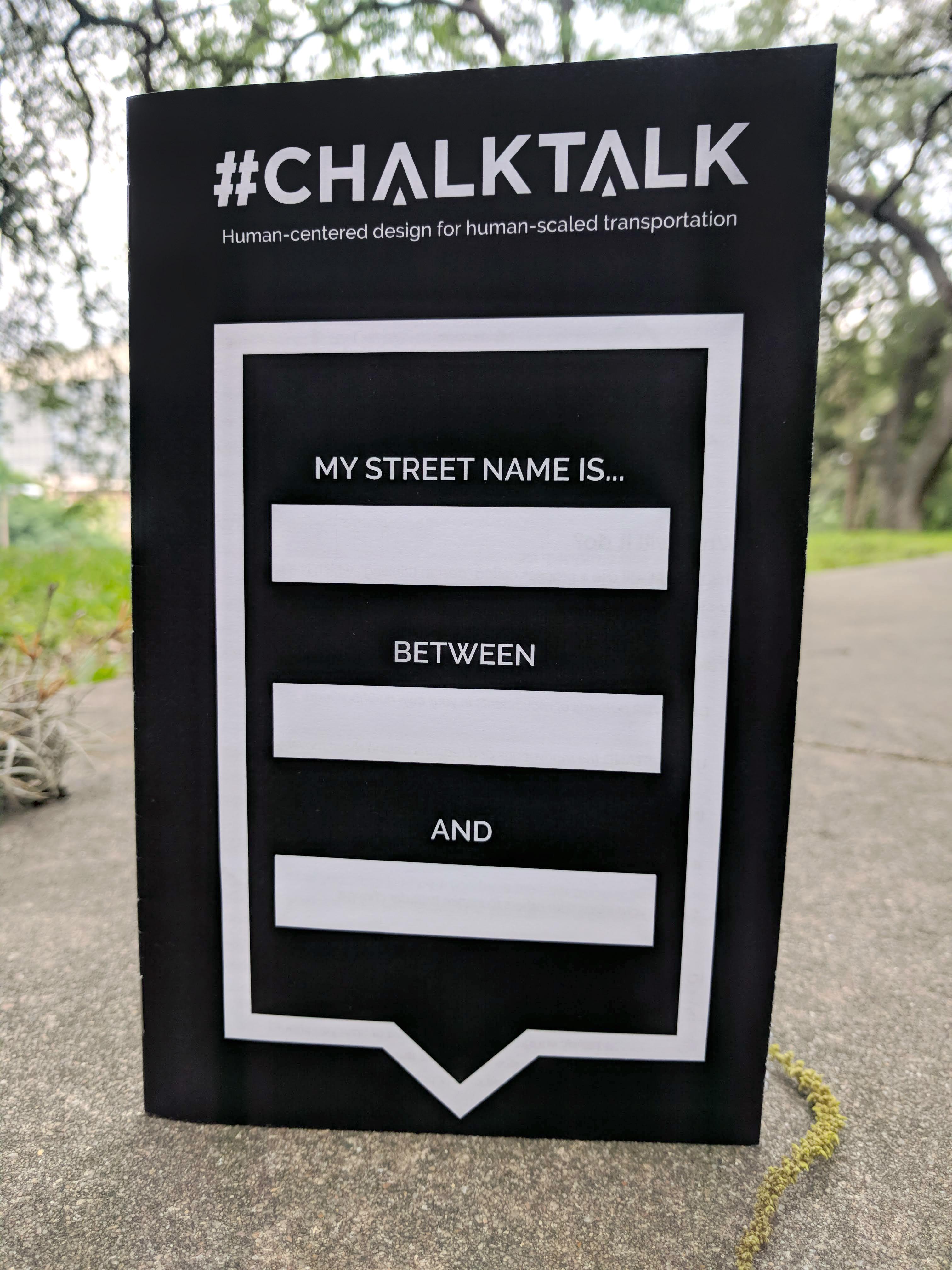 chalktalk bookletc