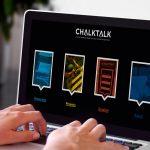 The ChalkTalk website in desktop view.