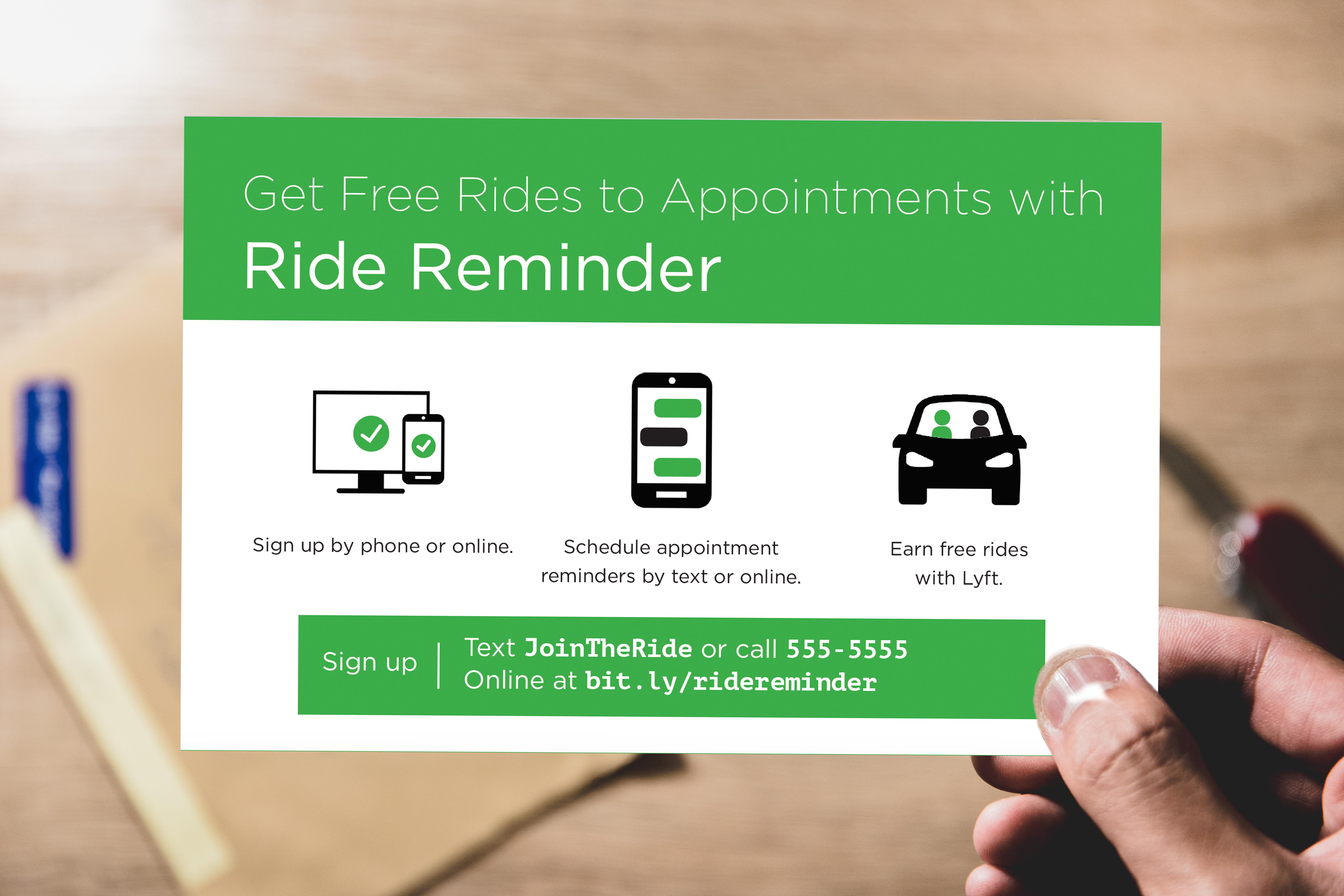 ride reminder