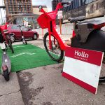Testing the Framework: Hello My Bike's Name Is… during 2018 Park(ing) Day event in Austin, TX.