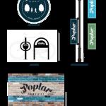 Poplar Parkway streetscape branding