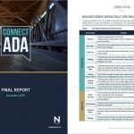 Connect Ada final report – cover and interior page